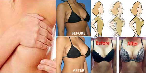 how to grow breast in 2 days